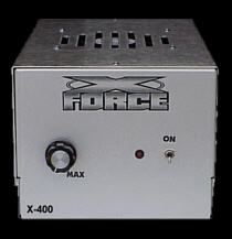 X-400 *** Amps now have a shorter design to fit nicely under seats*** - Product Image